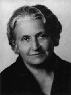 Maria Montessori, 1933 rok.